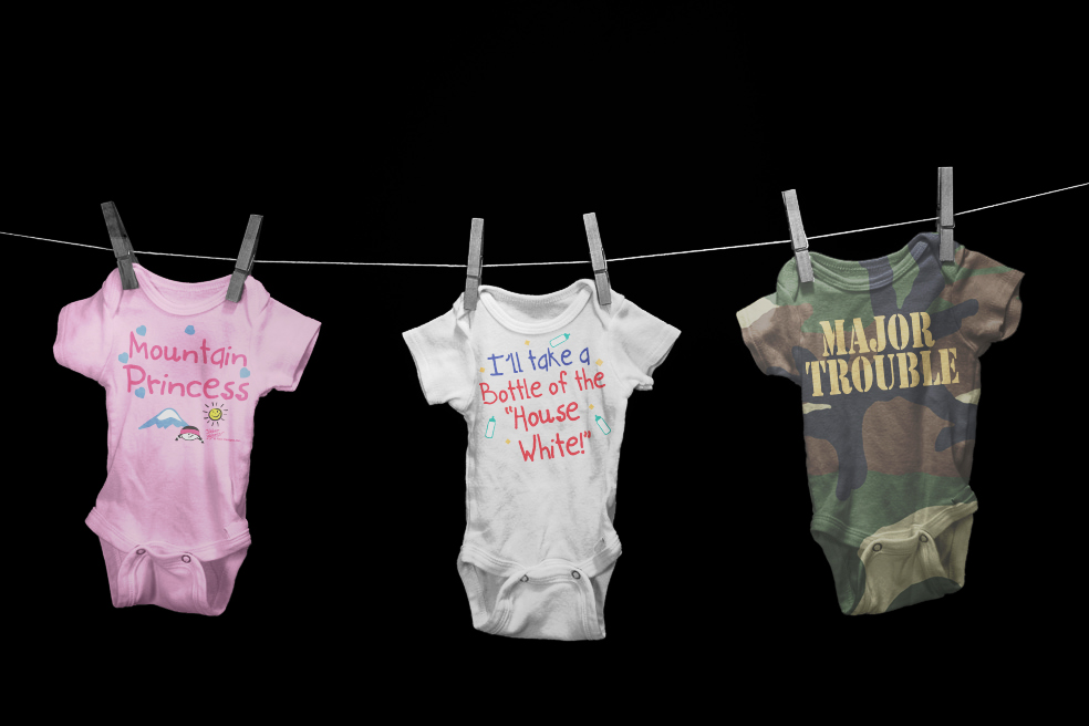 Baby Onesies Novelty